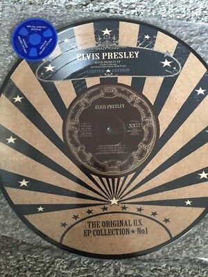 "ELVIS PRESLEY 'US EP Collection No. 1' 10"" ltd edition EP PICTURE DISC Vinyl NEW"