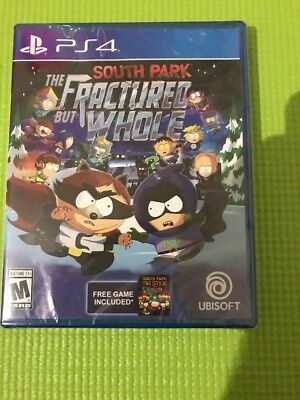South Park  The Fractured But Whole  Sony Playstation 4  Ps4 Sealed  Free Game
