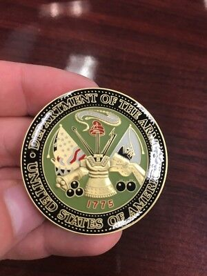 Limited US Army Medic Challenge Coin. Clean Detail And Design.