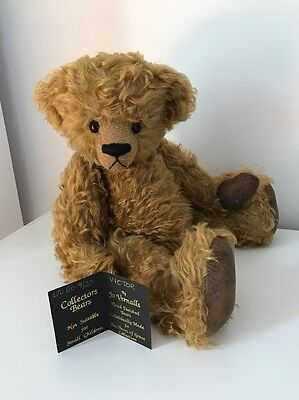 ARTIST TEDDY BEAR BY BEARS OF GRACE LIMITED EDITION NO 4/20 NAME VICTOR