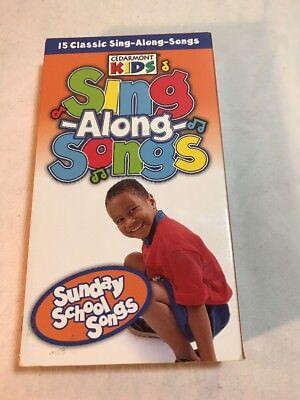 Cedarmont Kids Sing Along Songs - Sunday School Songs VHS](Kids Sunday School)