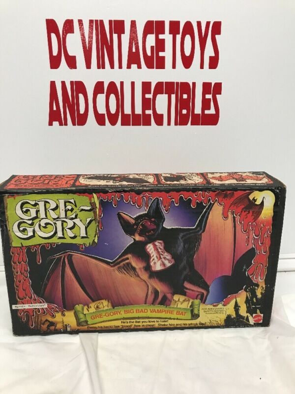 Vintage Mattel 1978 Gre-Gory Gregory the Vampire Bat GreGory With Rare Box Wow!!