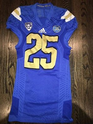 Game Worn UCLA Bruins Football Jersey Used adidas #25 Size M