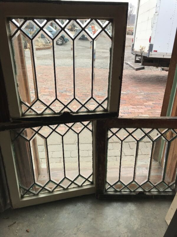 Sg 1726 3 Available Price Each Beveled Glass Window 21.5 X 22.5