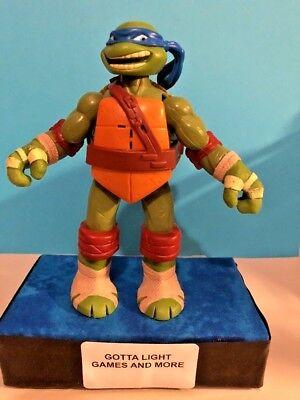 """6"""" Talking """" Leonardo"""" Teenage Mutant Ninja Turtles Action Figure,Clean,2012"""