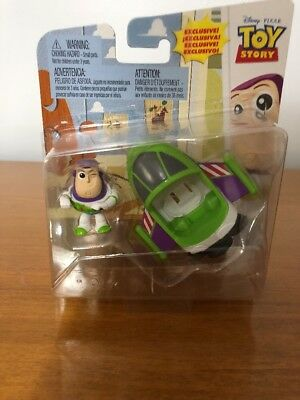 Mattel Disney Pixar Toy Story MINI BUZZ & SPACESHIP New In Package