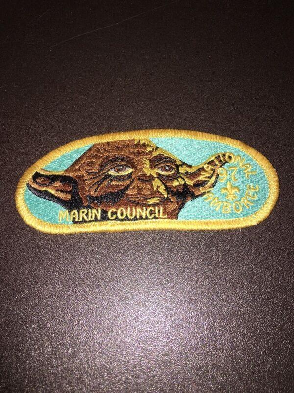 Boy Scout STAR WARS Patch - 1997 Jamboree Marin Council Yoda Patch