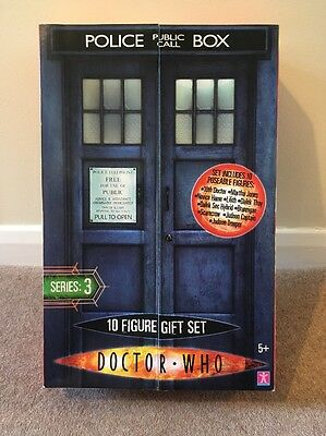 Dr Who 10-figure Series 3 Gift Set