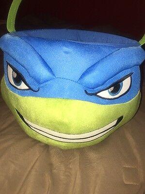 Teenage Mutant Ninja Turtles Leonardo Plush Halloween Basket Bucket](Ninja Turtle Halloween Bucket)