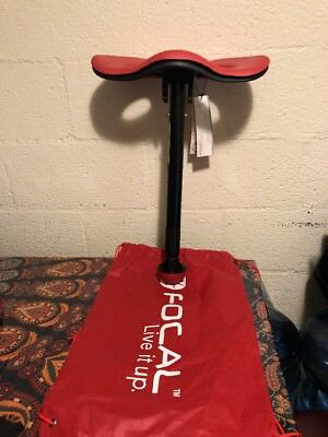 Focal Upright Seat Safco Mogo Red Black Fks1000rd