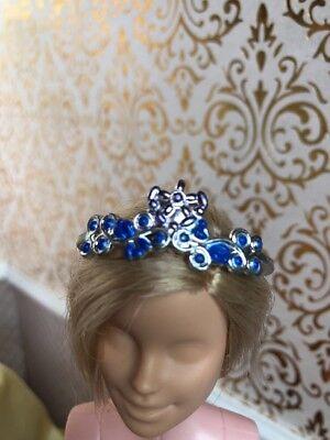 Princess Silver Crown Tiara Barbie Doll Disney