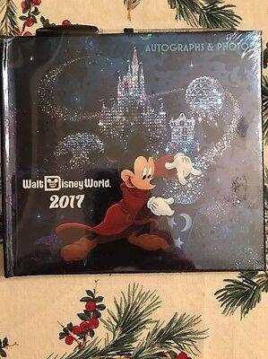 Disney 2017 Walt Disney World Sorcerer Mickey Autograph Book And Pen New