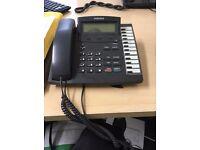 11 Samsung KPDCS-12B LCD Office Telephone