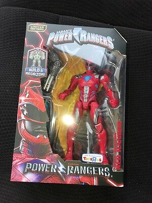 Power Rangers Legacy 2017 Movie Build Megazord Toys R Us Exclusive Red Ranger