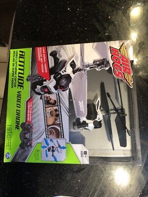 Air Hogs Altitude Video Drone Aerial Video Memory Plus Recording Photography New
