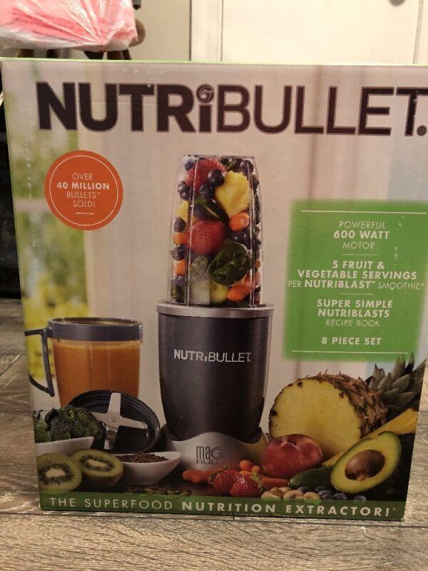 NutriBullet 24-Oz. Blender Gray/Silver NBR-0801
