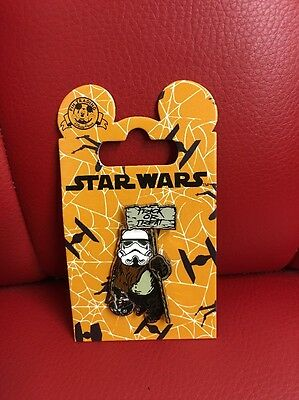 Disney Parks: Star Wars Halloween Edition Pin: Ewok Trick Or Treat (DP-10)**** - Disney Park Halloween Treats