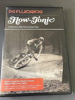 Fluidride Flow-Tonic DVD Mountain Bike Instructional Video Downhill Freeride