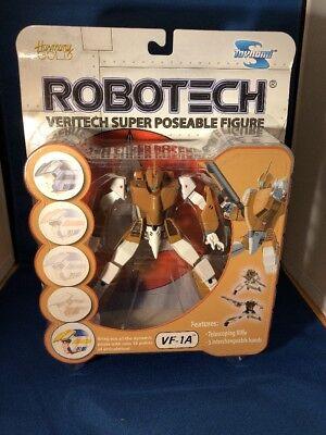 Robotech Veritech Super Poseable Figure VF-1A Brown/Tan by Toynami 2001