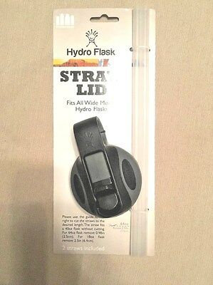 Brand New Hydro Flask Lid Wide Mouth Straw Lid Straws fit 18oz to 64oz