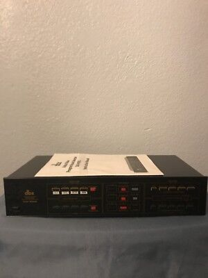 Vintage DBX DAV-600G Audio Video Program Route Selector with Manual Tested VTG