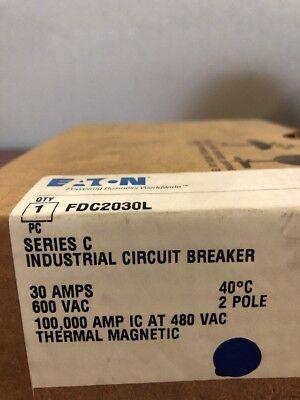 Fdc2030l C-h New In Box 2 Pole 30 Amp 600 V
