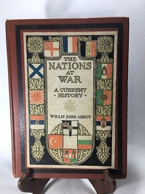 1917 The Nations At War A Current History By Willis John Abbot