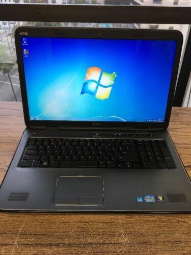 "Dell XPS 17"" L702X Core i7 2.80GHz 8GB RAM Webcam Windows 7 Pro"