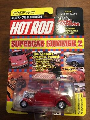 RACING CHAMPIONS 32 FORD COUPE HOT ROD SUPERCAR SUMMER 2 1:64 SCALE 32 Ford Coupe Hot Rod