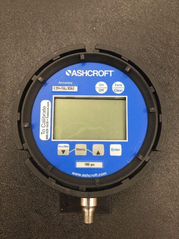 ASHCROFT 452074SD02L100# Gauge, Pressure, Digital **Tested**
