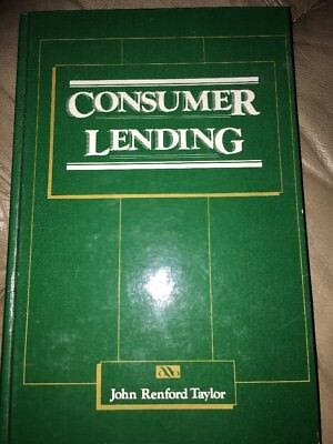 Consumer Lending By John Redford Taylor