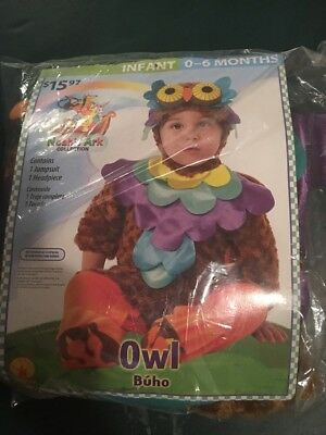 Halloween Costume Infant Boy/Girls Infant Noahs Ark Owl 0-6 Months - Owl Costumes For Girls