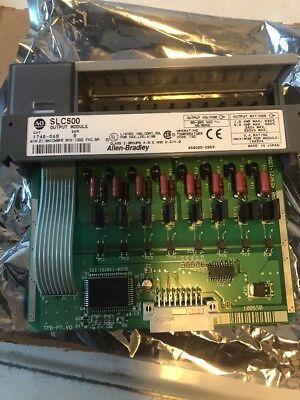 Allen Bradley Slc 500 1746-oa8 Series B B1l6