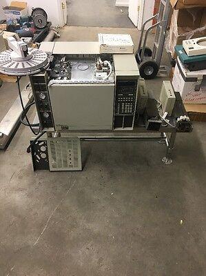 Hewlett Packard 5890 Gas Chromatograph 7673a 7673 Injector 18596c Autosampler