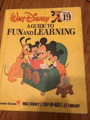 Walt Disney Fun-To-Read Library Volume 19 AGuide To Fun And