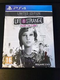 Life is Strange: Before the Storm - Limited Edition - Sony Playstation 4 PS4 Game - NEW AND SEALED
