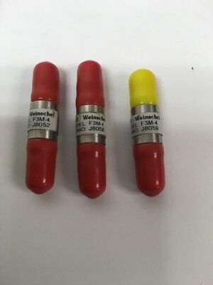 3 New Weinschel Mce F3m-4 Dc-18 Ghz 4db Sma Fixed Coaxial Attenuators