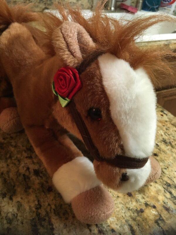 Wells Fargo 12 inch Plush Legendary Pony Mack 2012 missing saddle