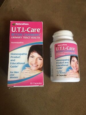 Naturalcare Homeopathic Uti Care Capsules For Urinary Tract Health  60 Count