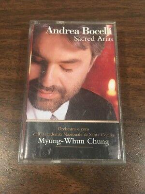 Sacred Arias (Cassette, Nov-1999)