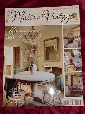 Maison Vintage N17 2016 Magazin Wohnen France Frankreich Shabby Chic Brocante