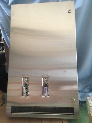 Bradley Napkin/Tampon Dispenser 25, Surface Mount Stainless Steel ()