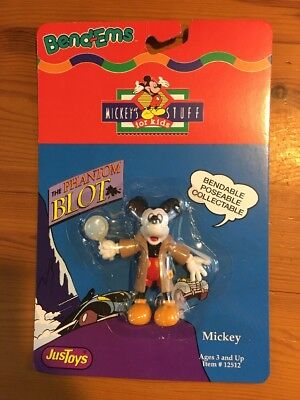 Disney Mickey Mouse Phantom Blot BendEms