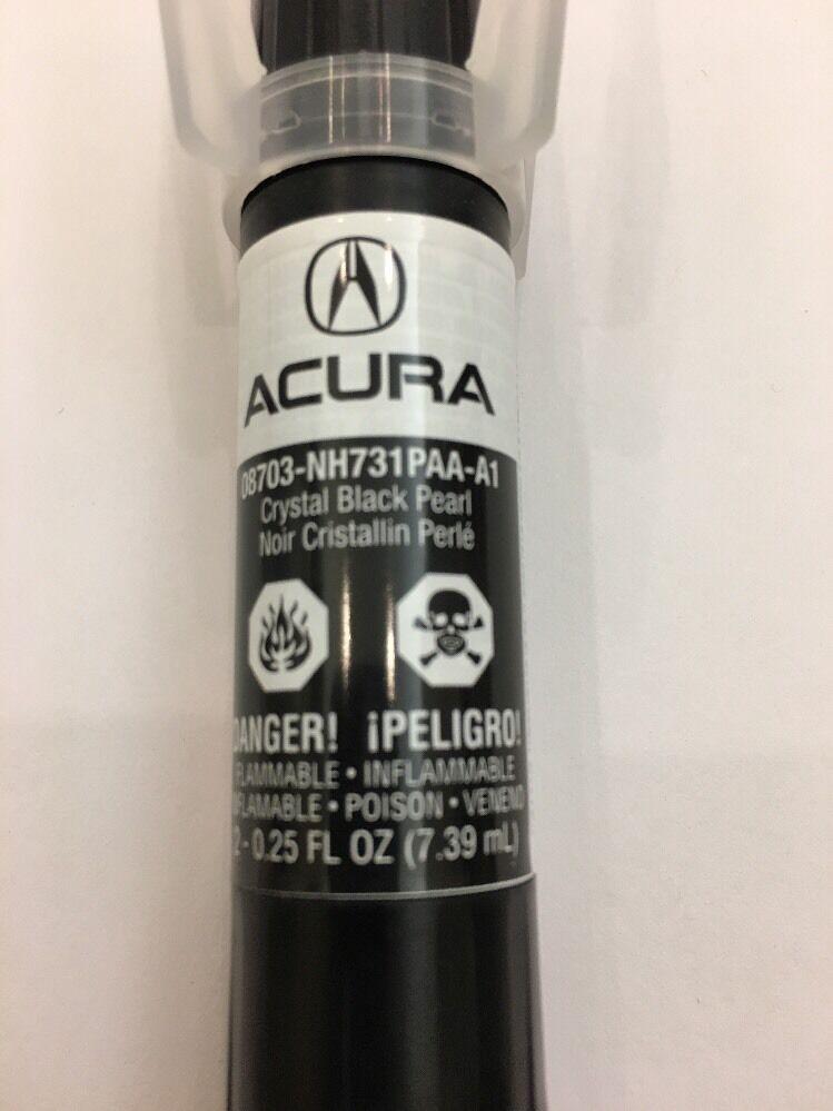 GENUINE OEM HONDA Acura Touch Up Paint NHP Crystal Black Pearl - Acura touch up paint