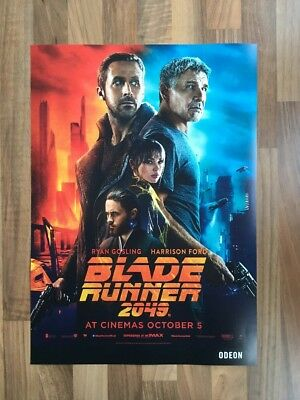 BLADE RUNNER 2049 - Harrison Ford, Ryan Gosling MINI MOVIE POSTER 2017 (SCI-FI)