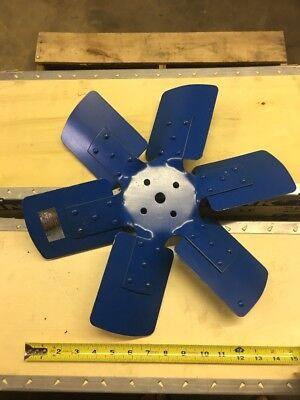 D9nn8600aa 6 Blade Steel Fan For Ford Tractors 2000 3000 3600 4600 5000 7000