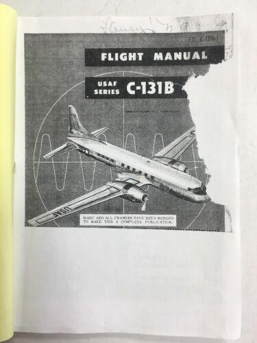 Consolidated C-131B Original Flight Manual