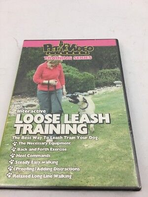 Dog  Puppy Training: Interactive Loose Leash Training (DVD, 2005)  NEW, used for sale  Triangle
