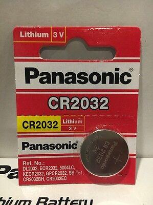 1 Pack Panasonic cr2032 3v lithium battery Fresh USA Seller Exp. 2027