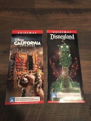 Disneyland / DCA California Adventure May - July 2017 Park Maps and (Disneyland Park And Disney California Adventure Park)